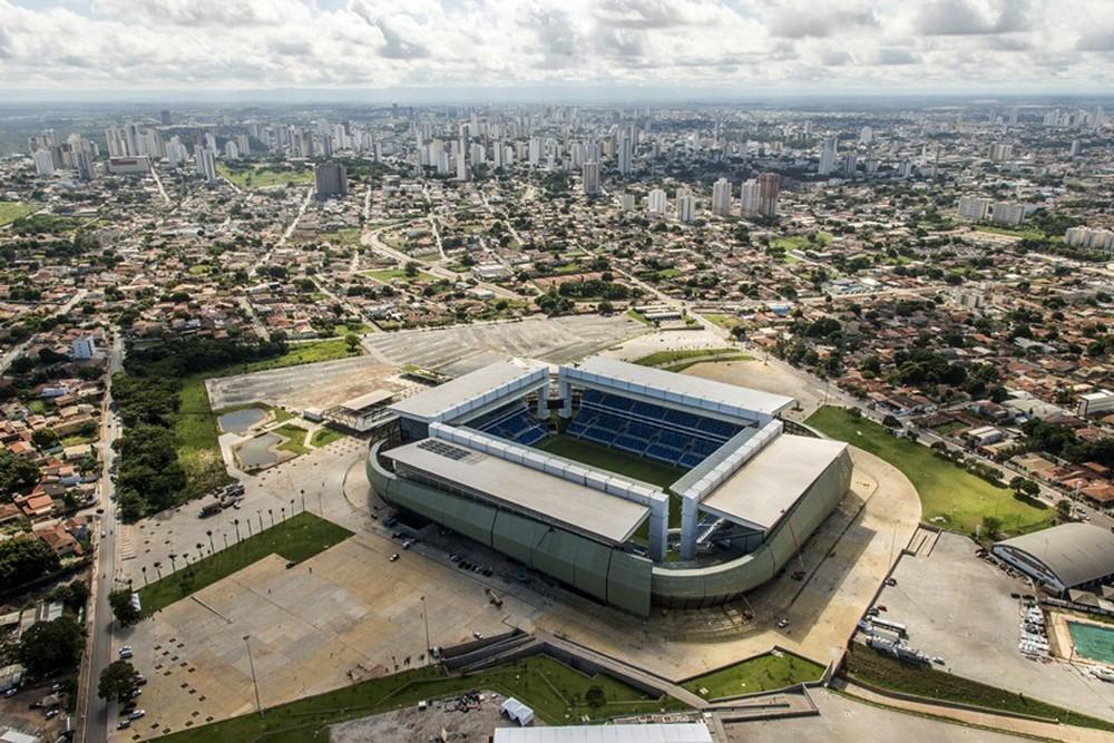 Arena Pantanal sediou cinco jogos da Copa América — Foto: Portal da Copa