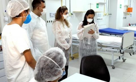 Cuiabá: Consultoras do Hospital Sírio-Libanês visitam Hospital Referência à Covid-19
